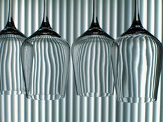 Wine Glass Refraction by brianwolk, via Flickr