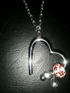 6 x Tibetan Silver /'BE MINE/' Love Heart Charm Pendant Jewelry Making Craft
