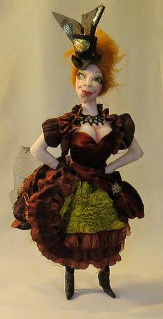 SFM Cloth Dolls With Attitude!: Riversdale Arts Exhibition Dolls