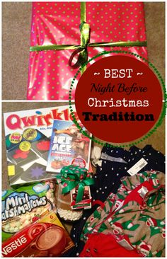 Night before Christmas box, have you done this??!! It's a great Christmas tradition.