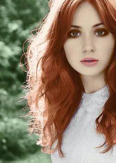 The Ginger Goddess in spring 2014.