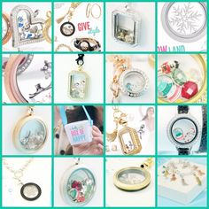 Origami Owl Holiday 2014 - so many options with the new holiday collection!