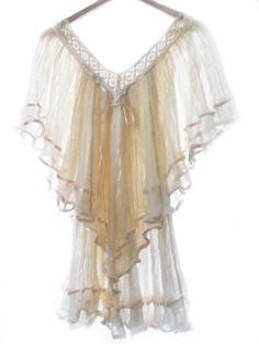 amor bohemio crochet eco friendly tunic by elizabethpalmer on Etsy, $85.00