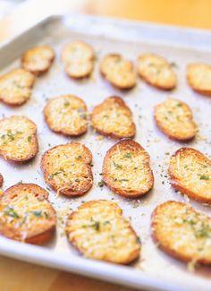 [ √ ] Parmesan Croutons - ↑
