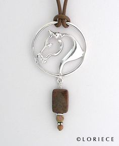 Equestrian Pendants and Necklaces, Horse Pendants and Necklaces | Loriece.com
