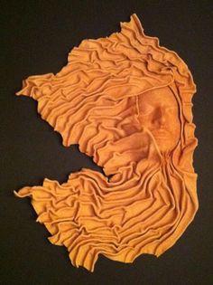 Princesa Wall Leather Sculpture on Behance