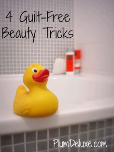 4 Guilt-Free Beauty Tricks