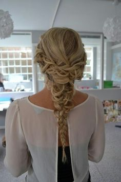 Hair Braid style fishtale fish tale