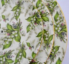 Bone China Lily of the Valley!
