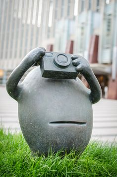 Public Art by Tom Otterness at Federal Courthouse Plaza. #minneapolis