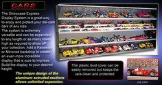 Purchase Diecast Car Display Cases - Showcase-express.com -   Collecting the different types of things like trophy display case, shot glass display case and display case Lighting is also a part of a hobby. These all showcases are available in different shapes, designs and forms and so, one can easily, choose any as per his/her liking or preference.