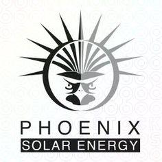 phoenix solar energy logo logo