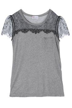 Camiseta con glamour...