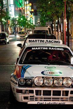 Lancia Delta on Japanese streets