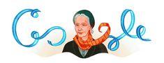 Los mejores 'doodles' de Google dedicados a mujeres pioneras: Alicia Moreau de Justo, gran feminista argentina