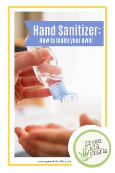 What do you do when the stores are out of Hand Sanitizer? You make your own! Here is a green recipe to make your own Hand Sanitizer today! Green Crafts For Kids, Crafts To Make, Kid Crafts, Science Experiments Kids, Science For Kids, Make Your Own, Make It Yourself, How To Make, Diy Sanitisers