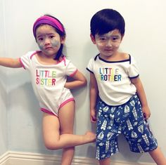 Twin Babies, Twins, Father And Baby, Kpop Exo, Minho, Baekhyun, Baby Photos, Kids Girls, Baby Baby