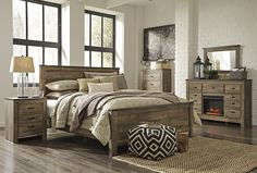 Ashley Trinell Suite | Mathis Brothers Furniture