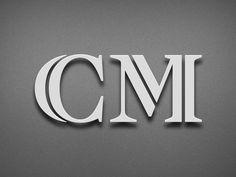 Logo design for a luxury custom car company. #logodesign #lettering #identity #monogram #inlinecapitals