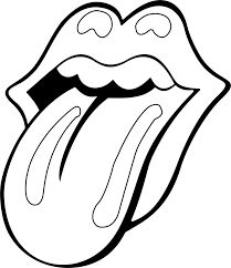 Tattoo to represent dad Rolling Stones Tattoo, Rolling Stones Logo, Logos Tattoo, Chicanas Tattoo, Rock Tattoo, Logo Outline, Tattoo Outline, Lengua Stone, Rooling Stones