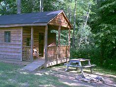 Catawba Falls Campground at Old Fort, North Carolina