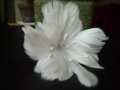 """6 feather flower"