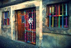 URBAN KNITTING BILBAO: Bar Felix (Avilés)