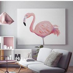 """3,828 curtidas, 45 comentários - Blog De Decoração (@eutambemdecoro) no Instagram: """"Um amor por flamingos! Foto: Pinterest #decorar #decoracao #decoracion #decoration #decoração…"""""""