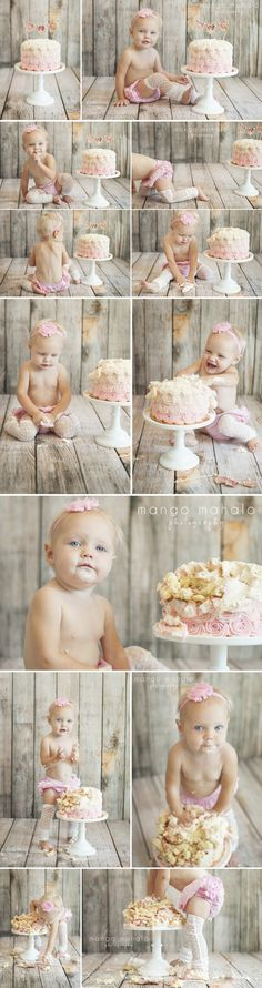 {oh girl, smash that cake} cake smash session by Mango Mahalo Photography by Michelle Anderson Mais Baby Cake Smash, 1st Birthday Cake Smash, Baby 1st Birthday, Smash Cakes, Birthday Ideas, Cake Smash Photography, Birthday Photography, First Birthday Pictures, Cake Smash Photos