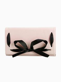 Chiffon Bow Tie Purse