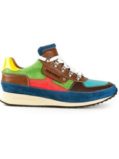 DSQUARED2 - panelled sneaker 5