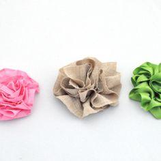 Making Fabulous Fabric Flowers!