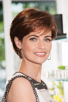 Sublime Gabor Wigs Front View Short Hairstyles For Thick Hair, Short Pixie Haircuts, Short Hair Cuts For Women, Pixie Hairstyles, Curly Hair Styles, Layered Hairstyles, Shaved Hairstyles, Medium Hairstyles, Gabor Wigs