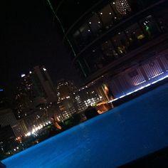 @its_raynee_rachelles photo: My kind of night! #volleyball #dallas #omni #hotel #pool #hottub #swim #gorgeous