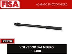 VOLVEDOR 3/4 NEGRO 5668BL. Acabado en oxido negro- FERRETERIA INDUSTRIAL -FISA S.A.S Carrera 25 # 17 - 64 Teléfono: 201 05 55 www.fisa.com.co/ Twitter:@FISA_Colombia Facebook: Ferreteria Industrial FISA Colombia