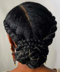 Halo Braids Natural Hairstyle Haarzöpfe 35 Natural Braided Hairstyles Without Weave Pretty Braided Hairstyles, Box Braids Hairstyles, Girl Hairstyles, Black Hairstyles, Hairstyles 2016, Protective Hairstyles, Famous Hairstyles, Protective Styles, Ethnic Hairstyles