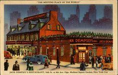 jack dempsey restaurant | Jack Dempsey's Restaurant, 50th St. AT 8th Ave New York City, NY