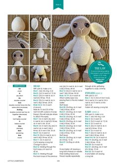 EllesHeart Loves #Amigurumi #Patterns #Crochet #Softies #Childrens #Toys #Handmade #Tutorial #Teddy #Doll ~ Amigurumi Patterns Crafty Mag 11 Preview