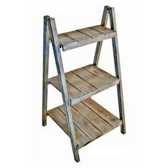 Cheung's 38-in Light Grey Wood Rectangular Plant Stand Fp-3120