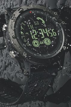 Product Name Tactical Smartwatch - iOS/ANDROID Compatible SKU Type Wrist Watch Dial Diameter: about / Band Width: about / Band Length: about / Case Thickness about / Material Stainless steel/PU Package Includes: 1 x Watch Notice: Please allow Tactical Watch, Tactical Gear, Survival Gear, Survival Watch, Survival Stuff, Survival Skills, Survival Clothing, Survival Tattoo, Survival Weapons