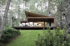 Casa RO Tapalpa Elias Rizo Arquitectos Modern Mountain Home, Tropical Houses, Style At Home, Modern House Design, Tiny House, Building A House, Architecture Design, House Plans, House Styles