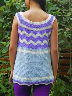 Womens Tunic Top Boho Tunic Womens Clothing Top by BuKuCrochet