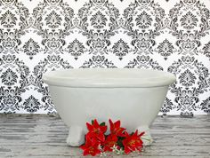 vintage bathtub digital backdrop by AJdigitalbackdrops on Etsy