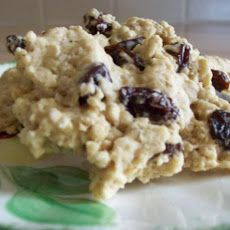Diabetic Oatmeal-Raisin Cookies