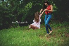 child photography. family photography. Mother and Daughter happiness. playful photography. fun, summer love
