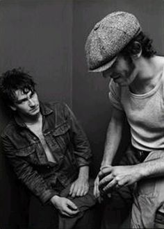 Springsteen and Bono, 1981