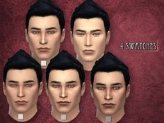 A new skin for male sims! R skin 07 Found in TSR Category 'Sims 4 Skintones'