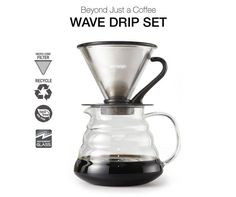 Brewki DKINZ Revolutionary Deluxe Cold Brew Coffee System Japanese Dutc