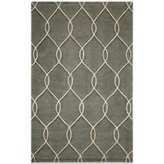 Momeni Bliss Rugs in Steel - BedBathandBeyond.com