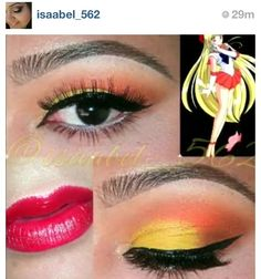 Sailor Venus make up